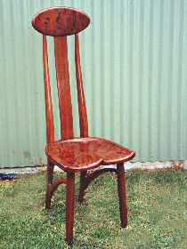 Jarrah Chair MacKintosh inspired